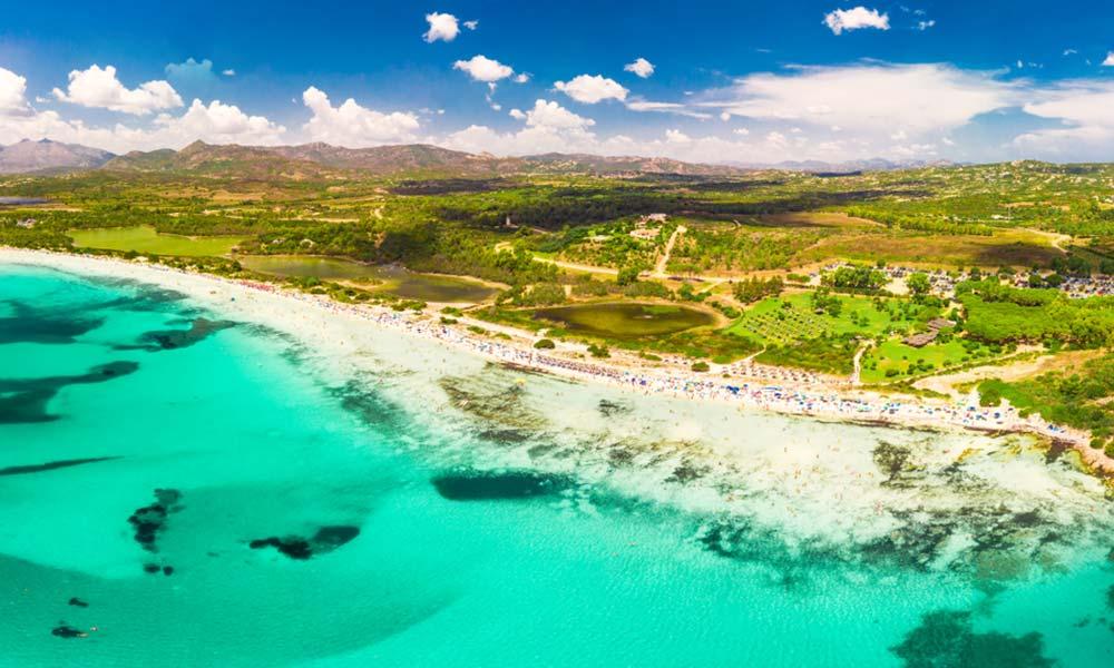 Cala Brandinchi, Sardínia