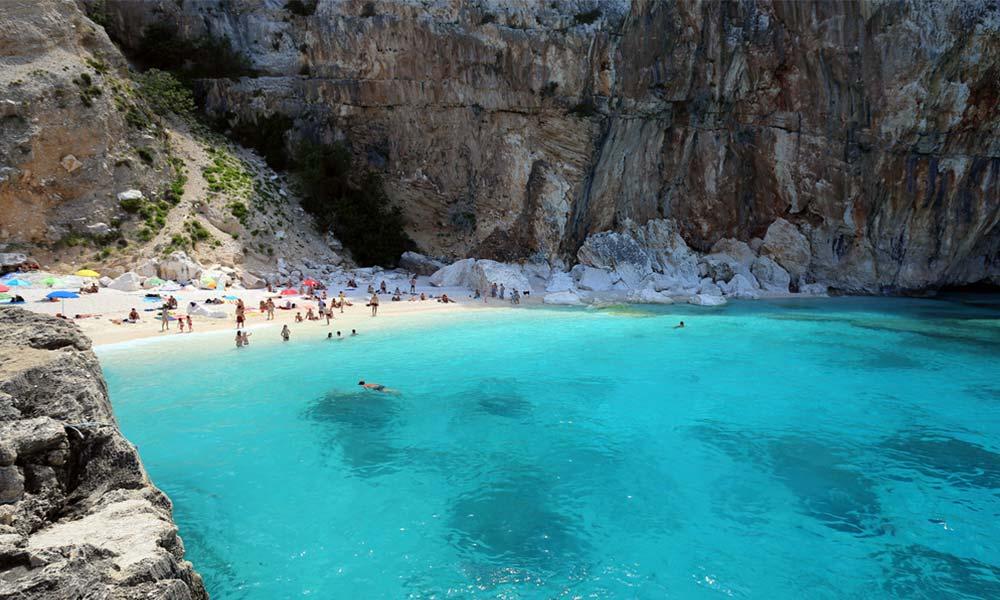Cala Mariolu, Sardínia