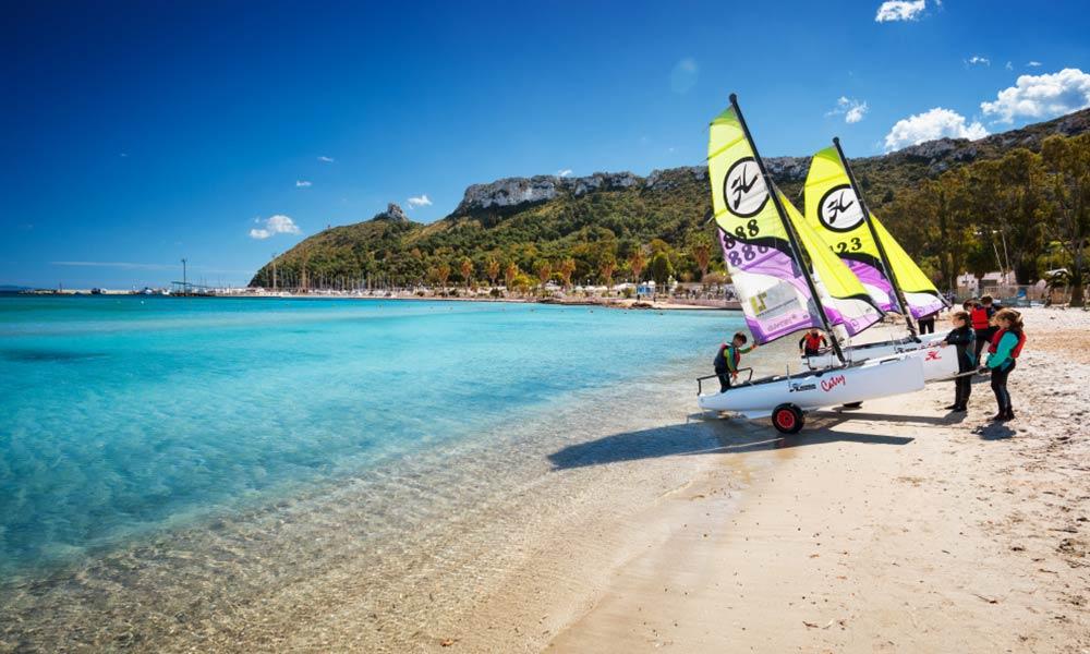 Spiaggia del Poetto, Sardínia