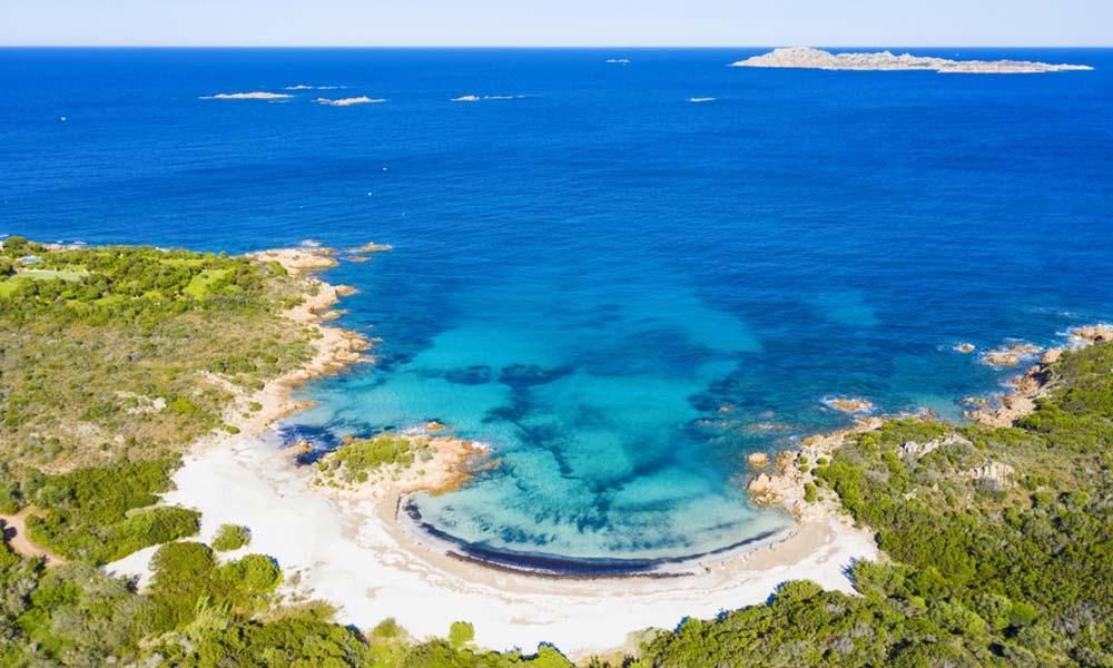 Spiaggia del Principe, Sardínia