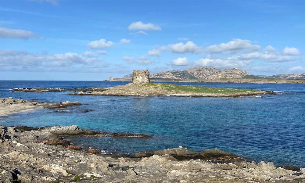 Torre della Pelosa, Sardínia