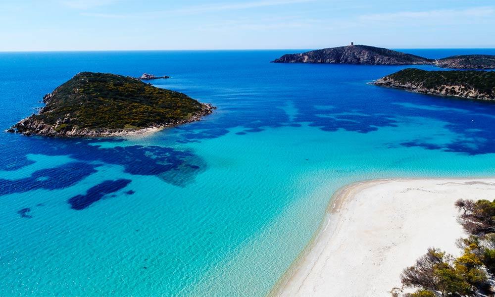 Tuerredda, Sardínia
