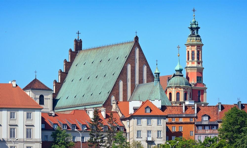 Varšava, kostol svätého Jána Krstiteľa