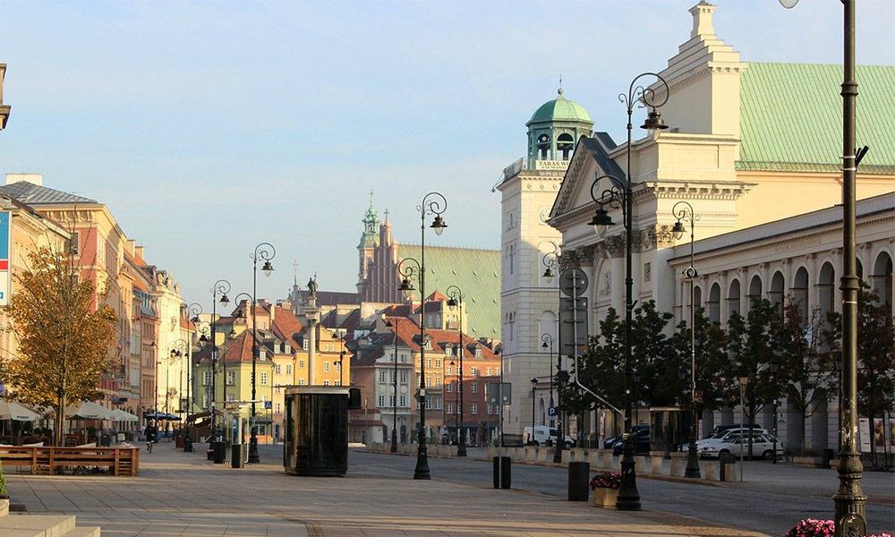 Varšava, Kostol svätej Anny