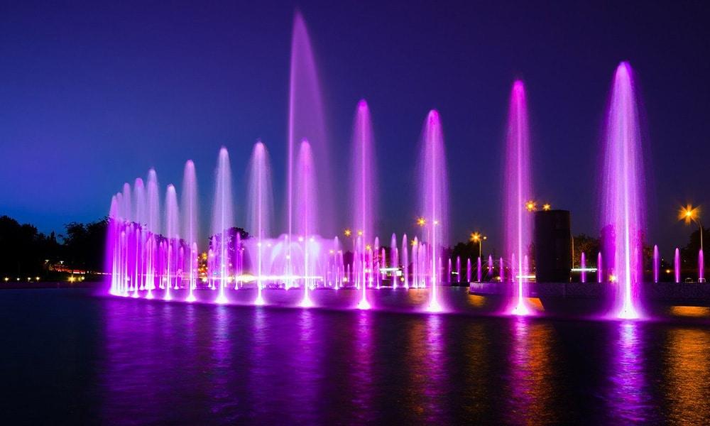 Varšava, Multimediálny park fontán