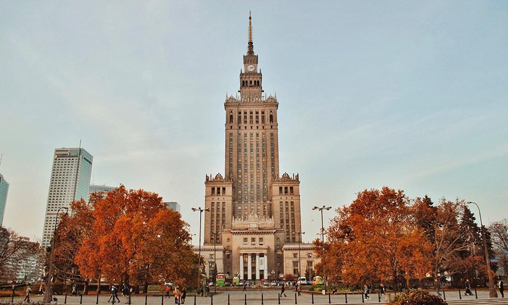 Varšava, Palác kultúry a vedy