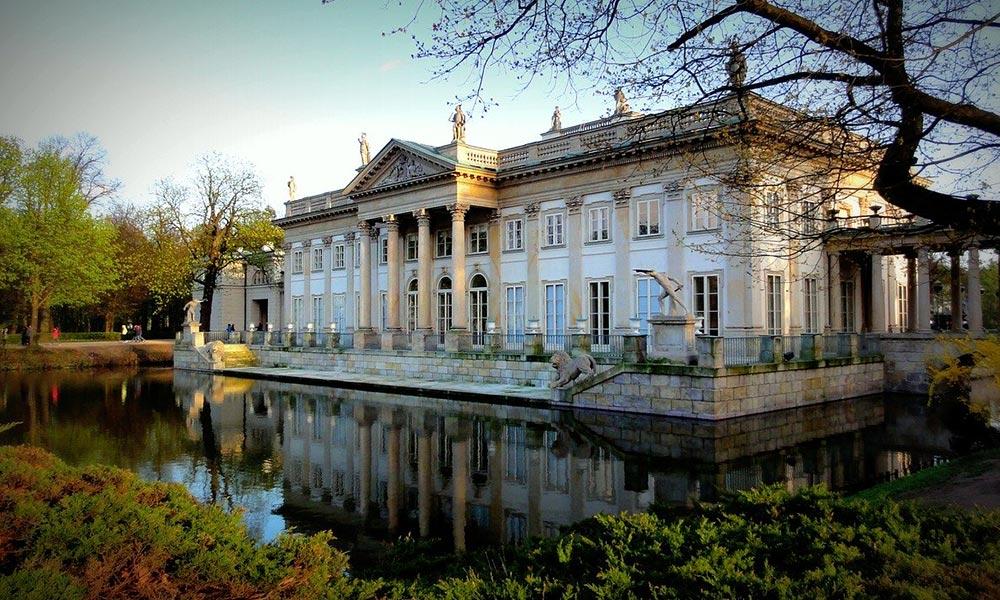 Varšava, Palác na ostrove
