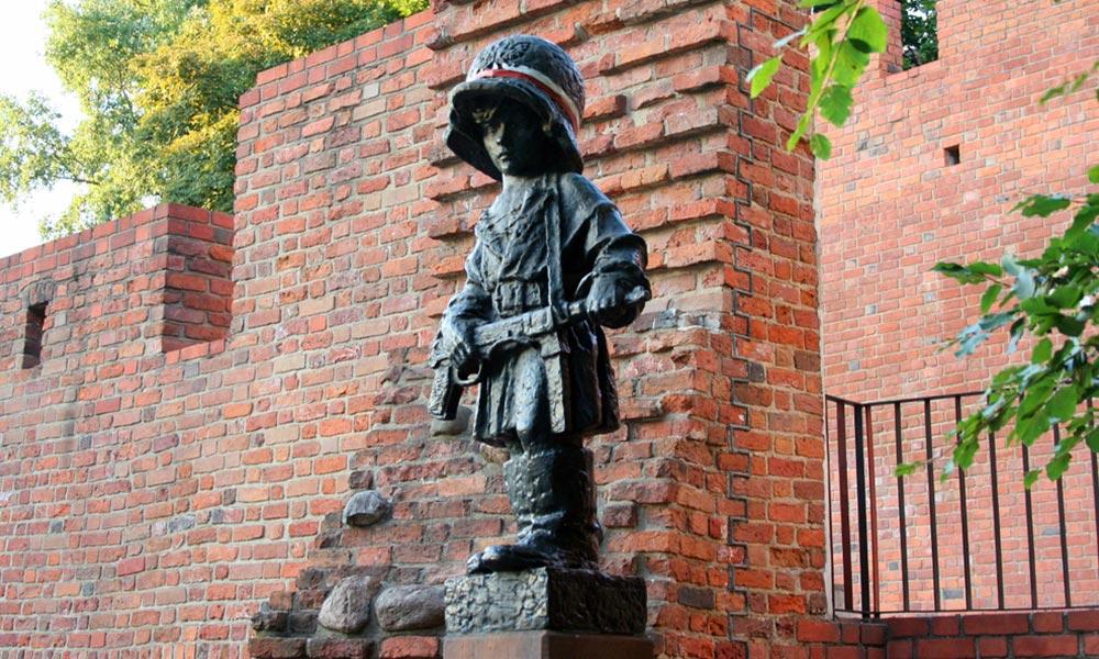Varšava, Pomník Malého povstalca