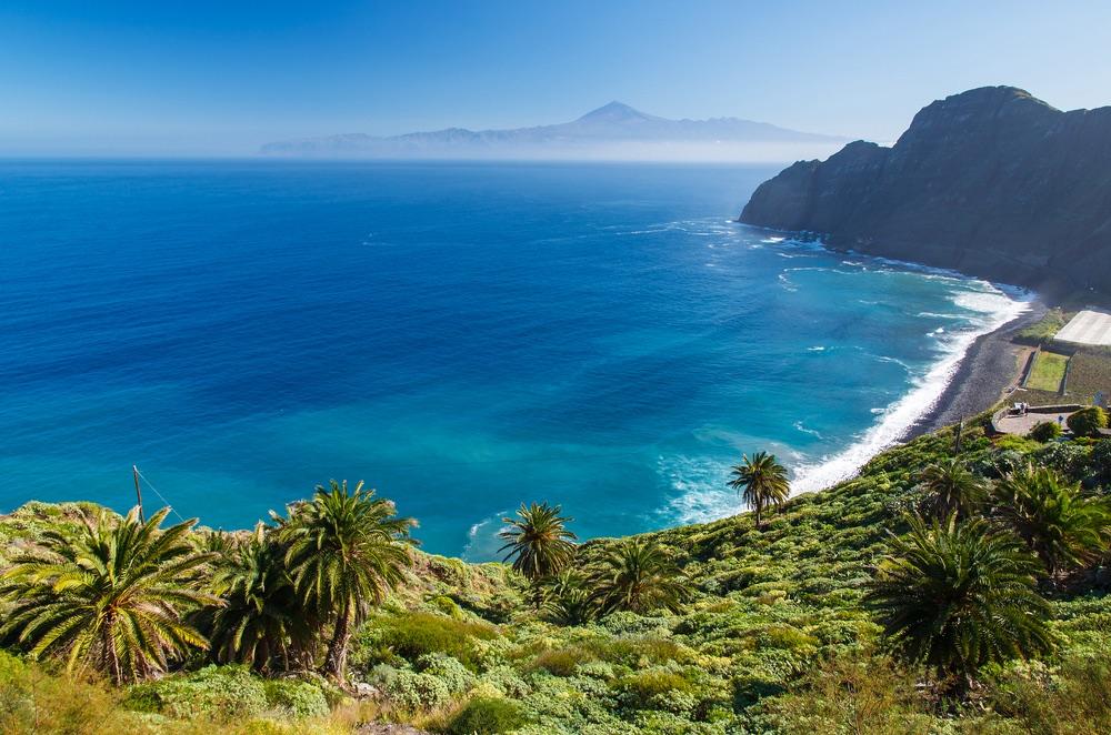 pláž Santa Catalina la gomera