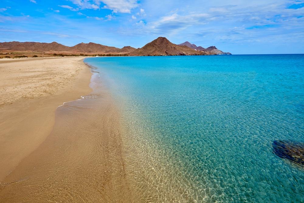 Playa de Los Genoveses Almería španielsko