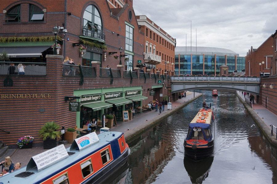 Brindleyplace v Birminghame