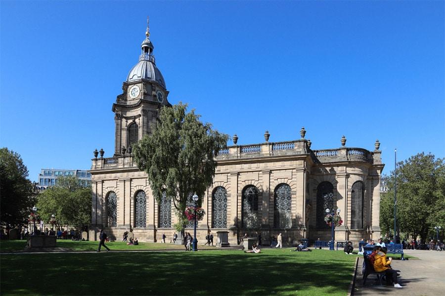 Katedrála v Birminghame