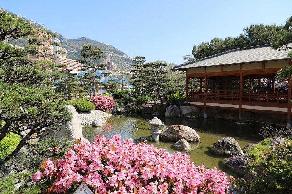Japonské záhrady Monako