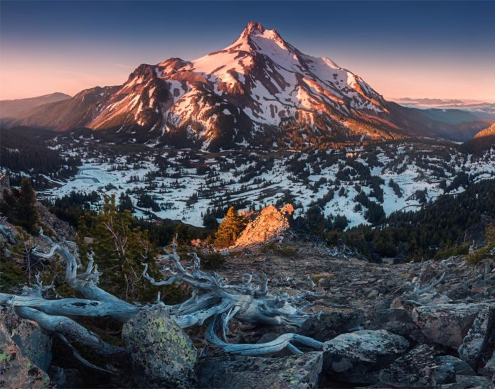 Mt Jefferson, Oregon