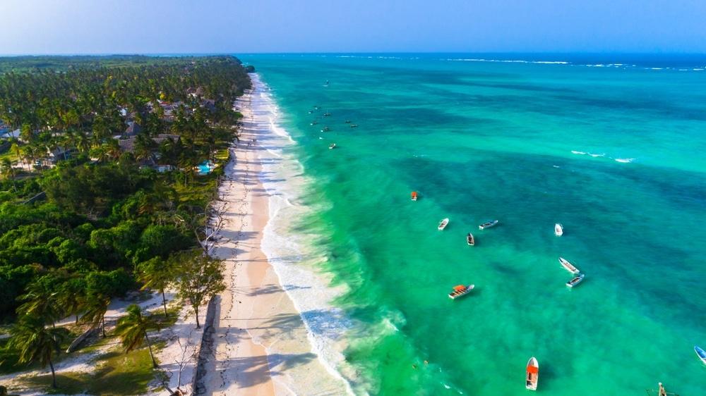 Pláž Paje, Zanzibar