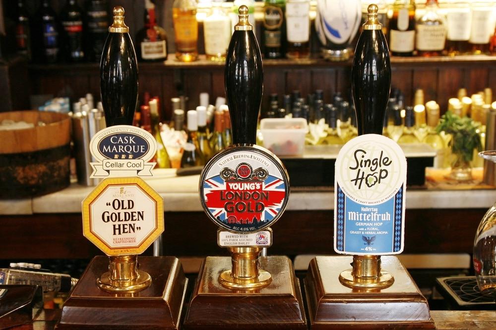 londýn pivo