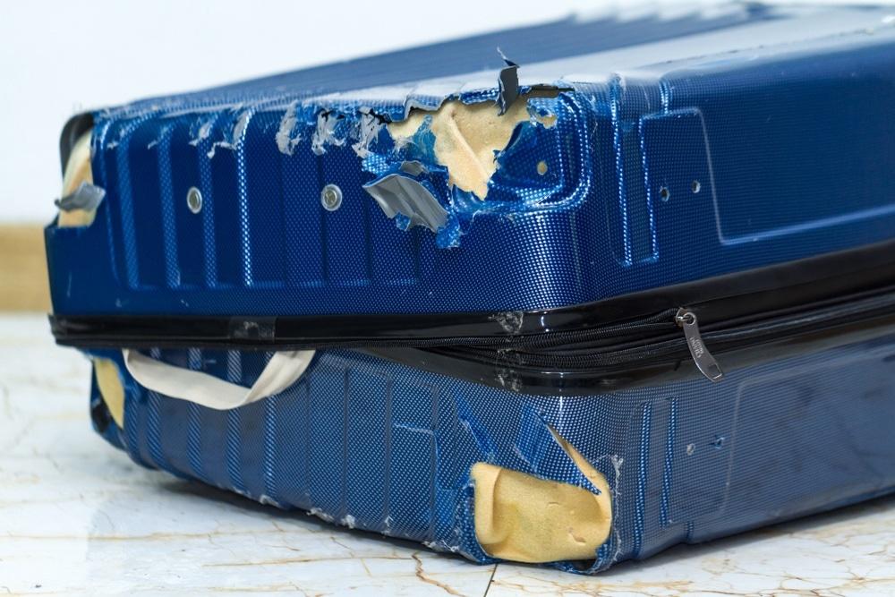 poškodená batožina