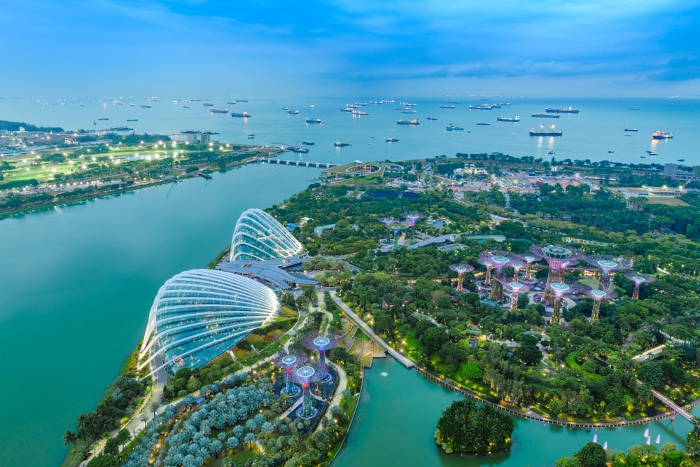 Singapur, Gardens by the Bay