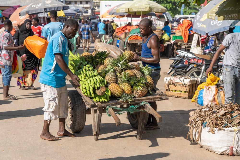 Miestny trh, Zanzibar