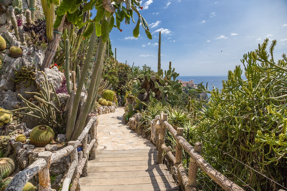 exotická záhrada monako