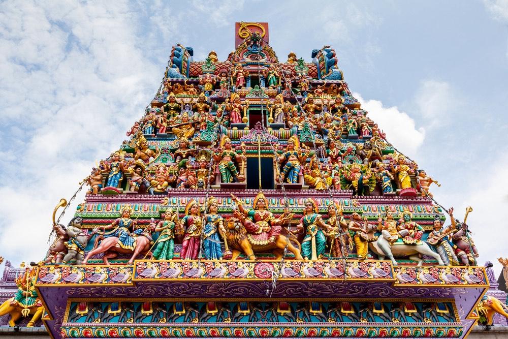 singapur little india chrám