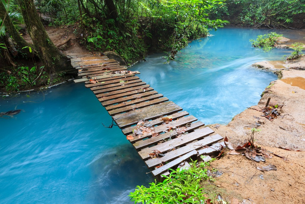 rieka Celeste kostarika