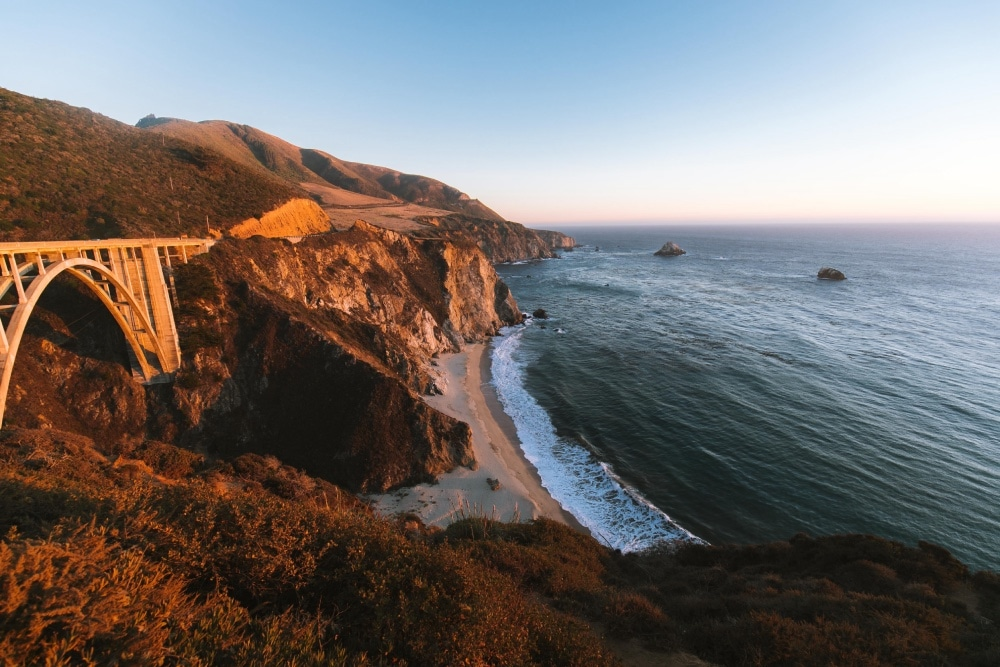 Bixby Creek Bridge, kalifornia