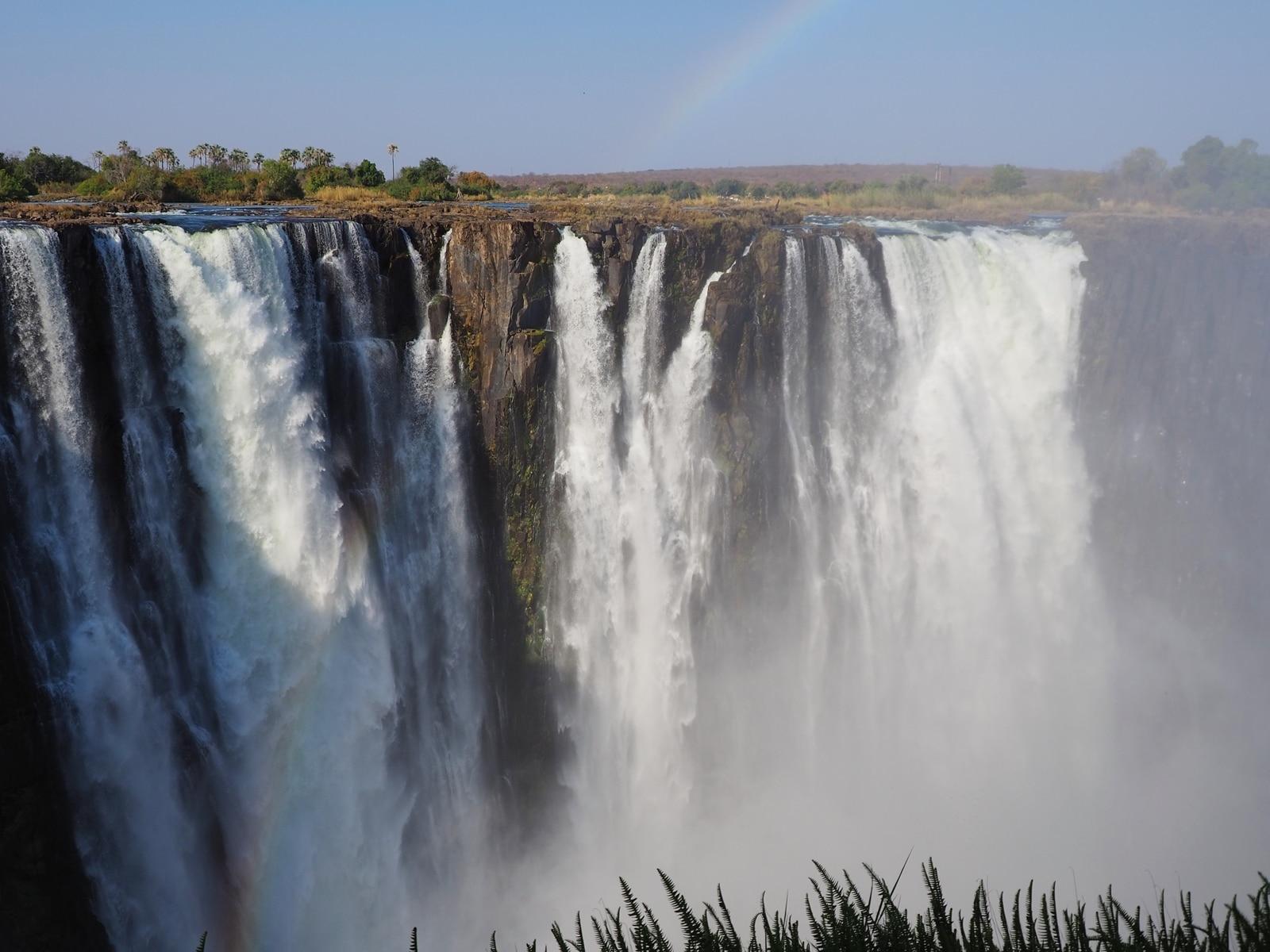 Viktoriine vodopády počas slabších mesiacov