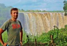 Viktoriine vodopády zo strany Zombabwe