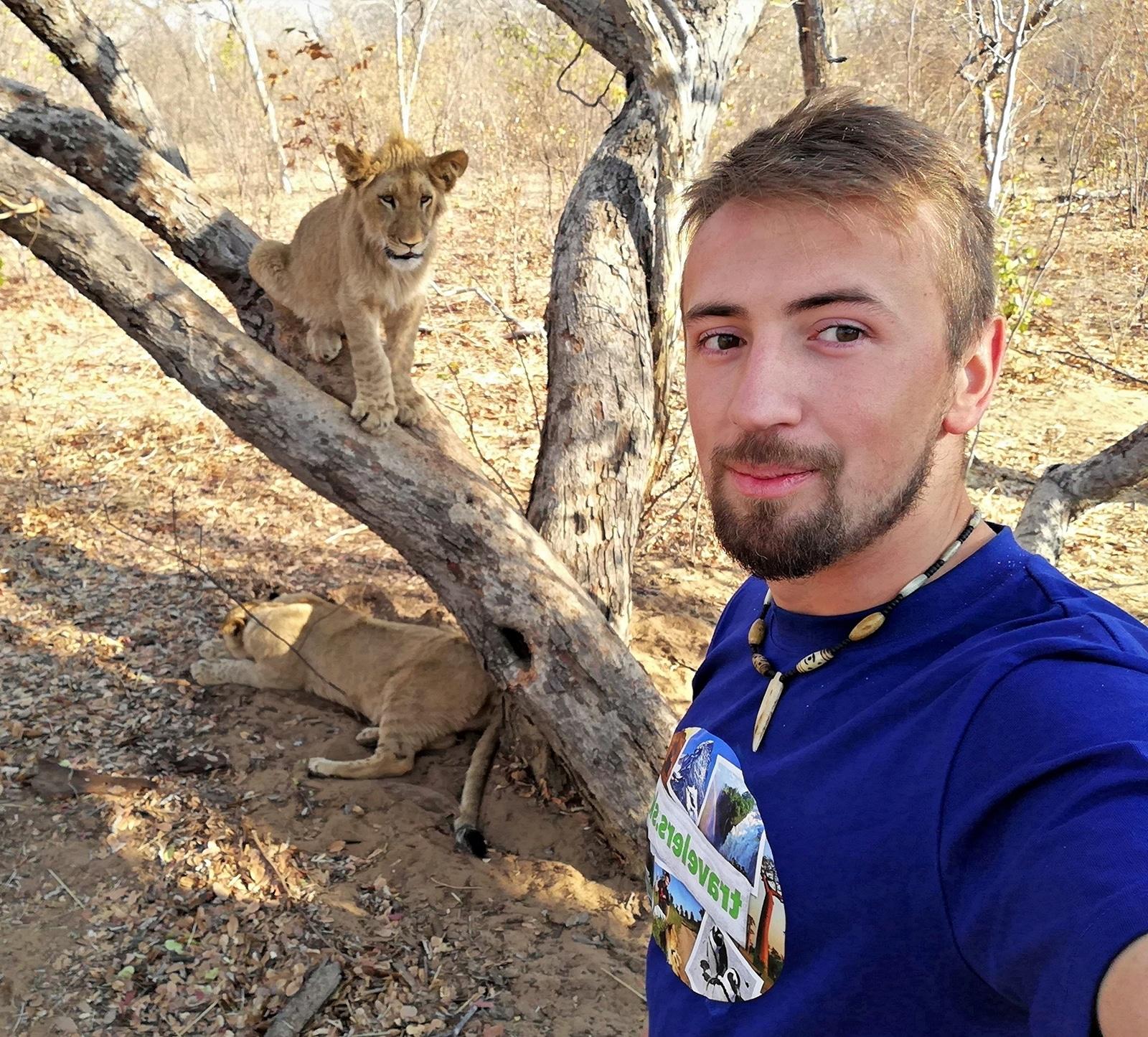 selfie s levmi