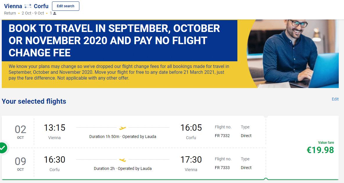 letenky na Korfu