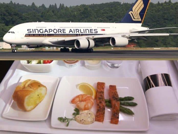 Singapore Airlines - reštaurácia