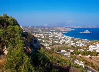 Pohľad na ostrov Kos