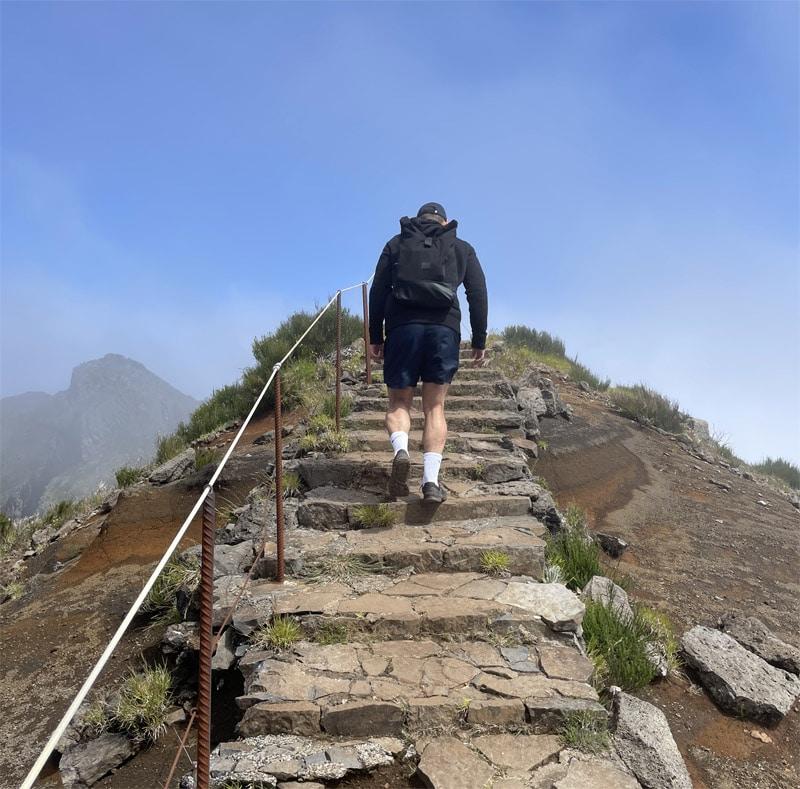 Výstup na Pico Ruivo